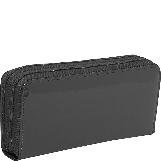 Jack Georges Patent Collection Zippered Clutch
