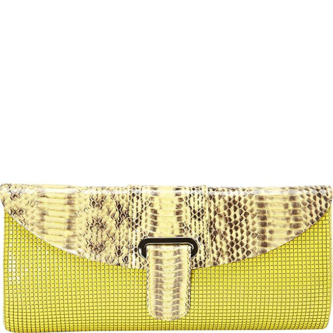 Whiting & Davis Candy Colored Snake Clutch