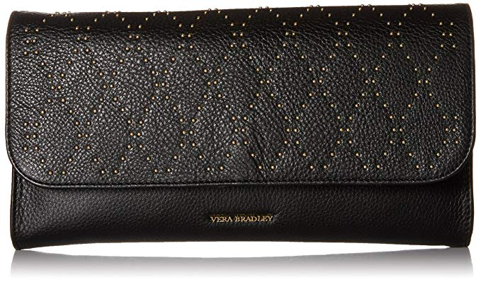 Vera Bradley Micro-Stud Harper Clutch, Leather