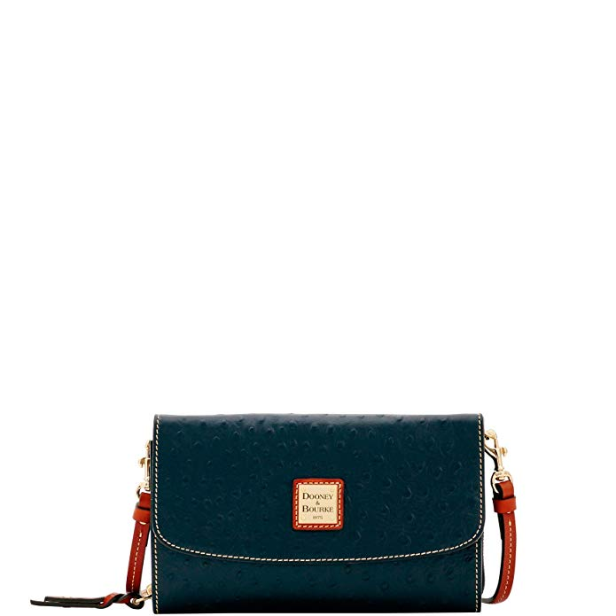 Dooney & Bourke Ostrich Clutch Wallet Wallet