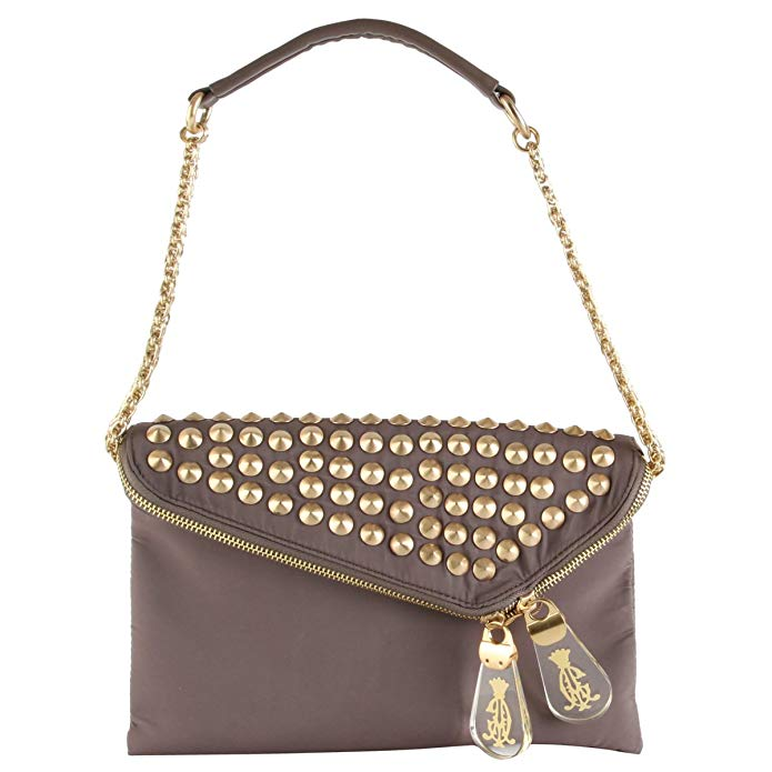 Christian Audigier Bitsey Envelope Clutch - Taupe