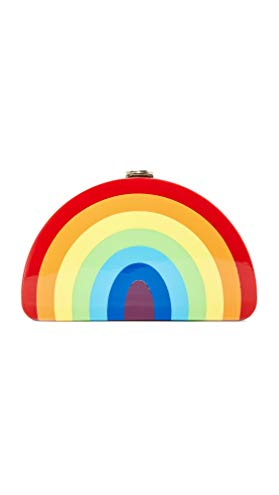 MILLY Rainbow 1/2 Moon Clutch