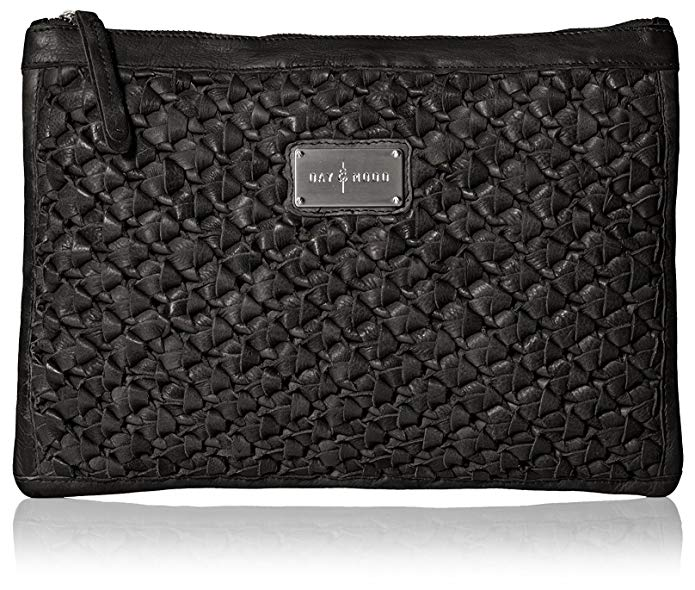 DAY & MOOD Women's Ann Clutch, Black