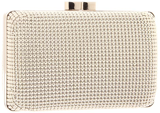Whiting & Davis Dimple Mesh Minaudiere Clutch
