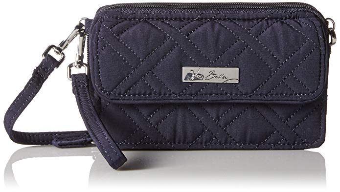 Vera Bradley Women's All in One Crossbody for iPhone 6+ Classic Navy Clutch